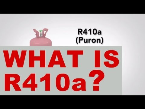 What is R410A Refrigerant?