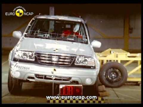 Euro NCAP | Suzuki Grand Vitara | 2002 | Crash Test