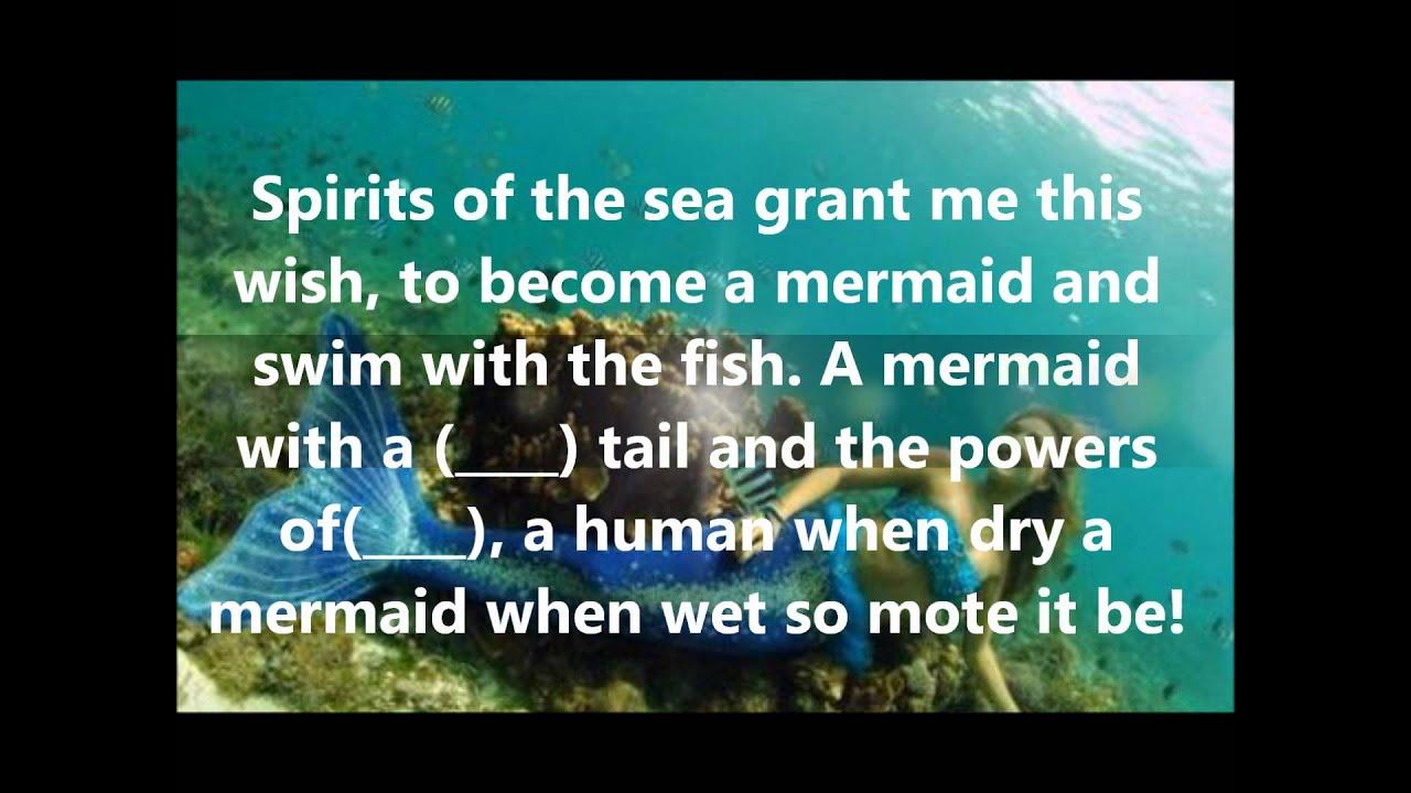 Mermaid Spell Youtube