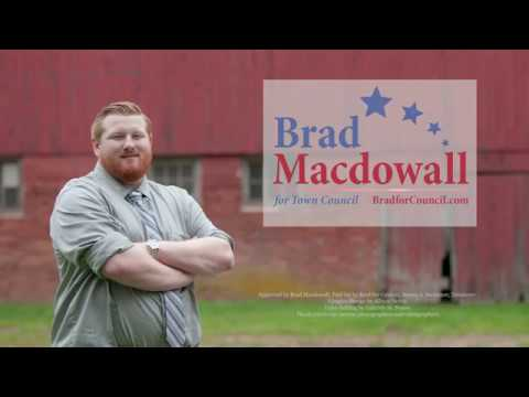 Revolution | Brad Macdowall for Town Council