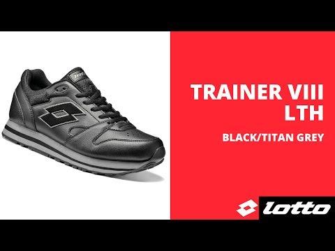 Мужские кроссовки Lotto TRAINER VIII LTH W (S4198) - YouTube 1e22dbc6e37