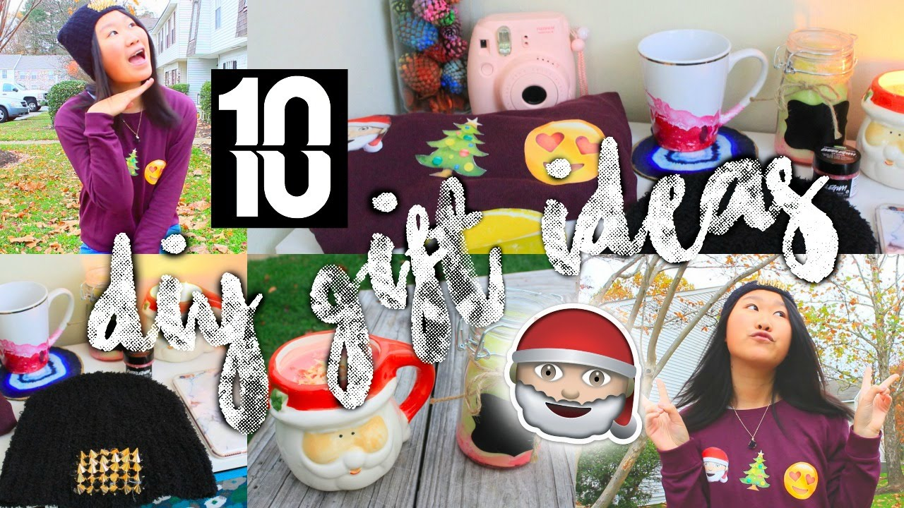 10 DIY Christmas Gift Ideas For Friends, Family+ More