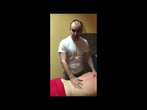 Медовый массаж спины массажист Денис Соболев
