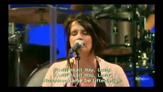 I Will Exalt ~ Amanda Cook [Bethel - Be Lifted High ]