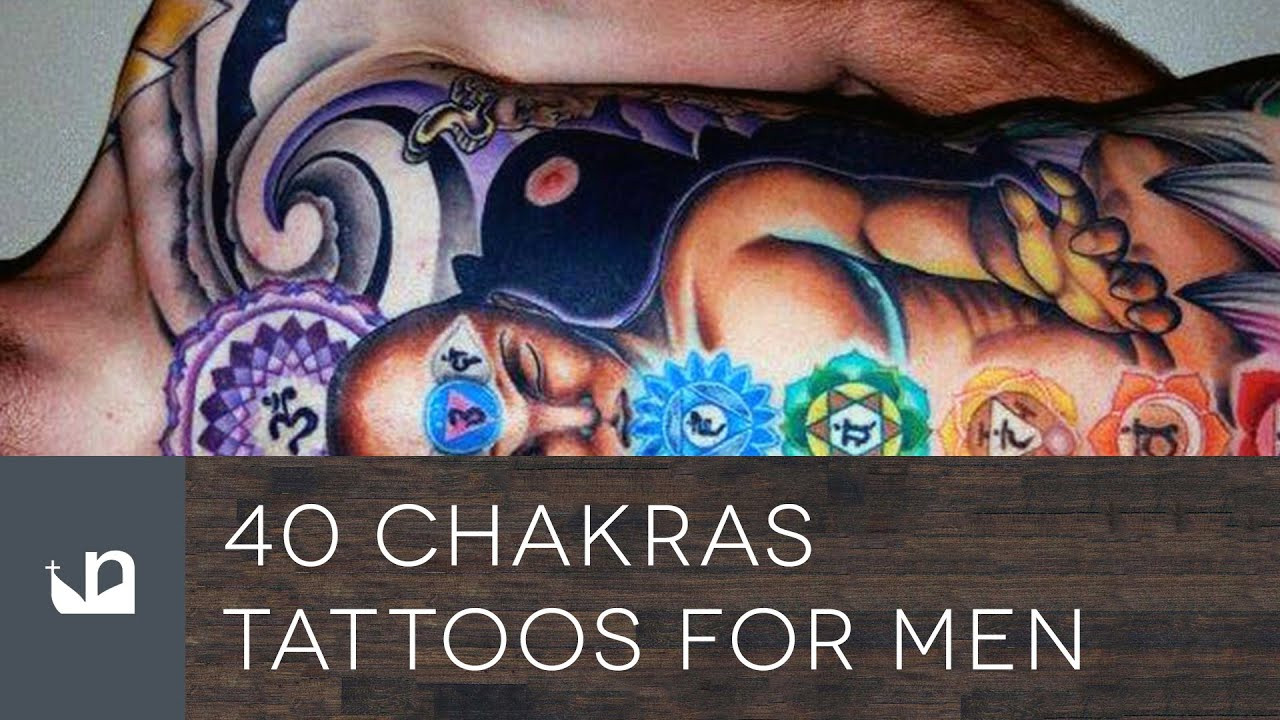 40 Chakras Tattoo Designs For Men – Spiritual Ink Ideas