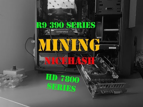 NiceHash Mining With R9 290 And HD 7800 Series 2018