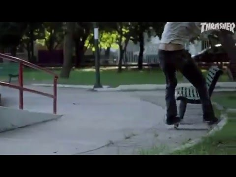 "Evan Smith's ""Time Trap"" Part from Thrasher Skateboarding Magazine"