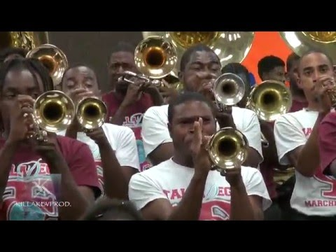 Talladega College Marching Band - One Blood - 2015 (Bandroom)