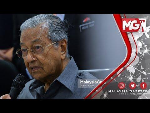 TERKINI : TMJ! DIA TAK FAHAM! 'Saya Yang Lahir Dulu!' - Tun Mahathir