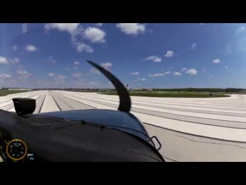 Cessna 172 VFR Fun Flight in Gusty Winds