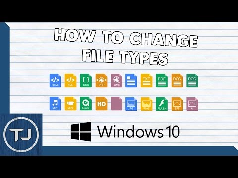 How To Change All File Types (Windows 10!)