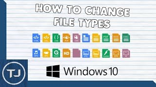 Video How To Change All File Types (Windows 10!) download MP3, 3GP, MP4, WEBM, AVI, FLV November 2018