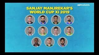Santner, Shaheen Afridi in Manjrekar's World Cup XI