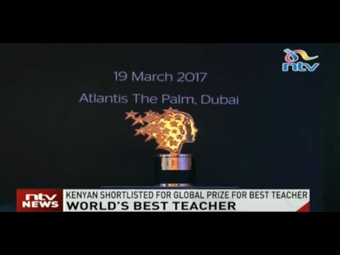 World's best teacher: Kenyan shortlisted for global prize for best teacher
