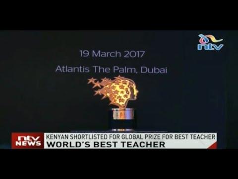 World's best teacher: Kenyan shortlisted for global prize for best teacher