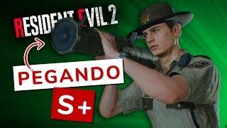 TENTANDO PEGAR BAZUCA INFINITA!! MODO INTENSO S+!! - RESIDENT EVIL 2 REMAKE