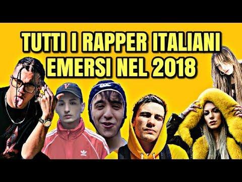 TUTTI I RAPPER ITALIANI EMERSI NELL' ANNO 2018
