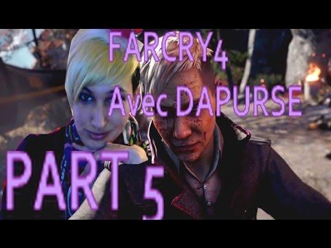 LetsPlay: FarCry4 (Part5) Amita continue à nous casser les pieds... Mission compliquée! Rage quit!