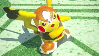 Pokken Tournament Pikachu Libre Official Trailer
