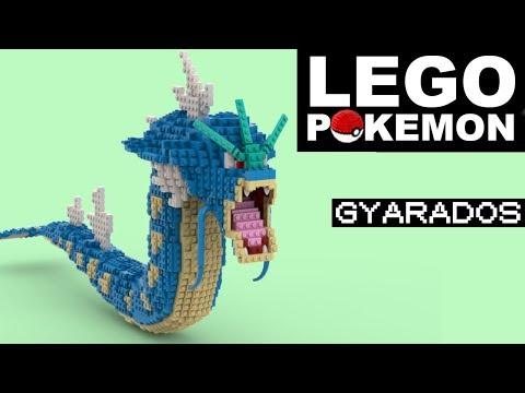 GYARADOS Lego Pokemon (Custom Build)