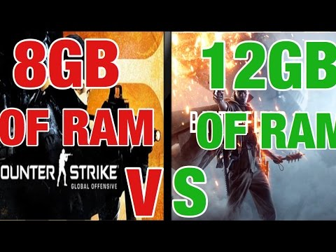 More RAM = More FPS?!  (8 GB V.S 12 GB)