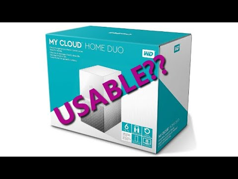 PBK0043 - Western Digital 6TB My Cloud Home DUO - Unboxing, setup & review (PART 1)