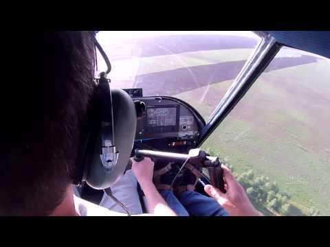 Легкий вертолет Rotorfly р30 вид из кабины
