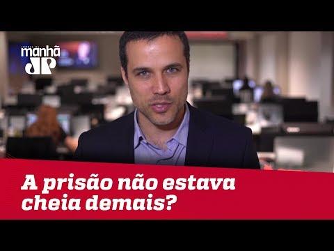 Ué, Lewandowski, a prisão não estava cheia demais? | #FelipeMouraBrasil