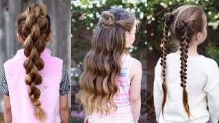 10 Cute & Easy Kids Hairstyles ❤️ Best Hairstyles for Kids