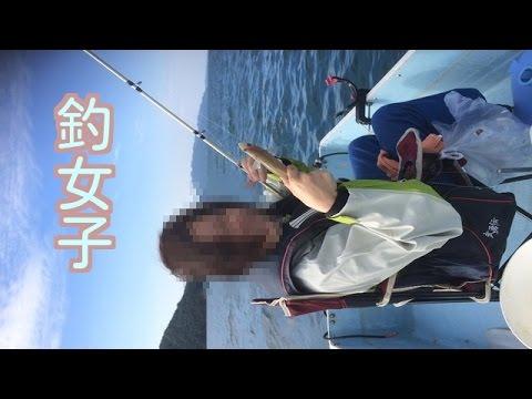 釣り女子サヨリ釣り《In天草》