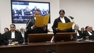 Chief Justice of Punjab and Haryana High Court administering oath to 6 additional judges