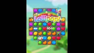 Lollipop Sweet Taste Match3 Level 3 - Walkthrough - No Booster screenshot 5