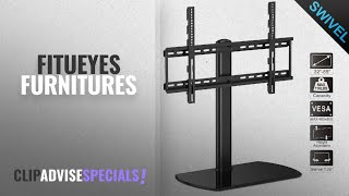 10 Best Selling Fitueyes Furnitures [2018 ]: Fitueyes Universal TV Stand /Base Swivel Tabletop TV