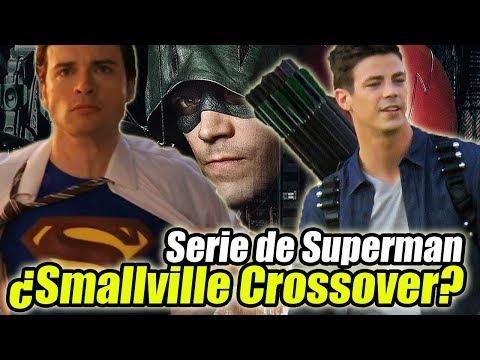 ¿The Flash/Smallville Crossover? Rumores Serie de Superman y Lex Luthor  - NOTICIAS