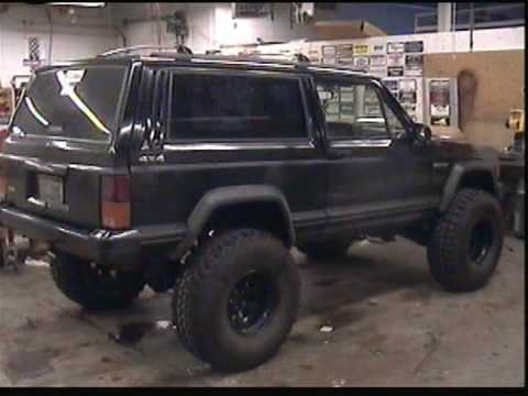 Jeep Grand Wagoneer >> Dana 44 conversion in Jeep Cheokee Sport 4x4 - YouTube