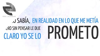 Pipe Calderón - Se Lo Prometo (Video Lyric - Ninfómana) ®