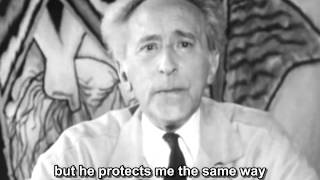 Jean Cocteau speaks to the year 2000, subtitled - 1962