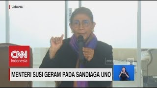 Download Video Menteri Susi Geram Pada Sandiaga Uno MP3 3GP MP4
