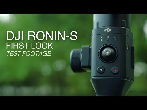 DJI Ronin-S Gimbal | First Look | Official Specs and Test Footage