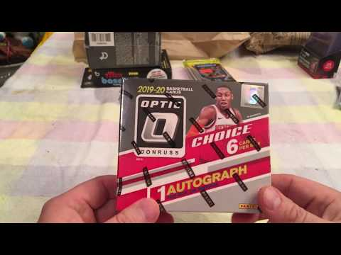 2019-20 Donruss Optic Choice Basketball Box Break 1