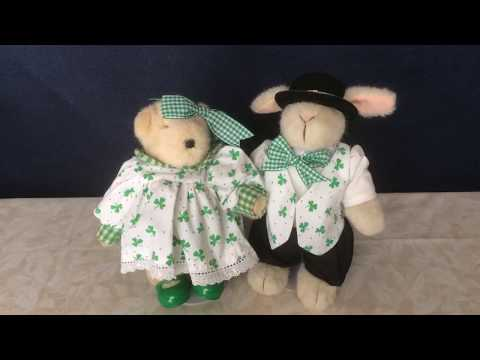 Happy St. Patrick's Day From Muffy And Hoppy!