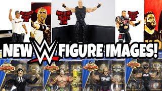 NEW WWE Mattel Elite 61 & Hall Of Champions Figure Images!!!
