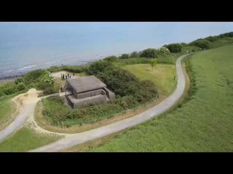 D Day 2017 Normandy landing beaches- mavic - Ponte du hoc - omaha - utha  - Gold