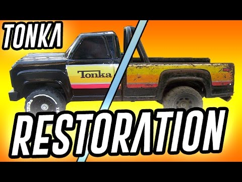 Tonka Toy Trucks >> 1979 Tonka Pick Up Truck XR-101 Restoration - YouTube