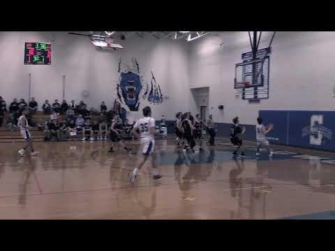 Somersworth High School Varsity Basketball versus Prospect Mountain