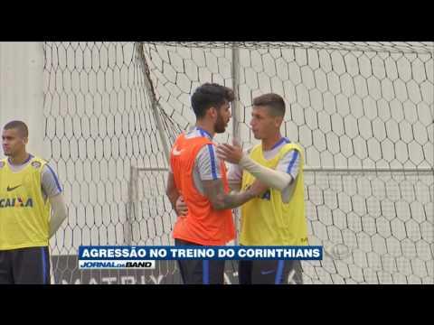 Clima tenso e agressão em treino do Corinthians