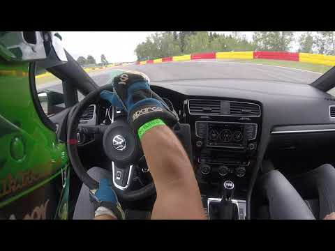 Volkswagen Golf GTI Clubsport S @ Trackday Spa 2:55min