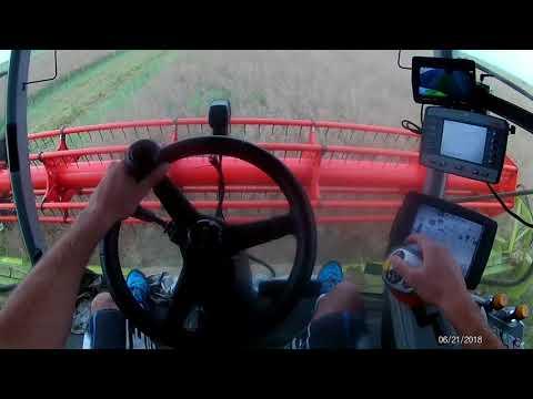 Claas lexion 780tt (GoPro cab view)