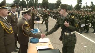 Курсанты Военной академии приняли присягу
