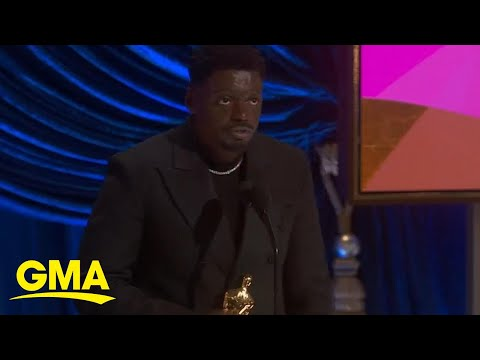 Daniel Kaluuya gave this speech as he accepted the Oscar for Best Supporting Actor | GMA